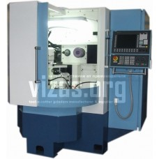 Special grinding semiautomatic machine with CNC for cut-off edges of the plungers VZ-550F4